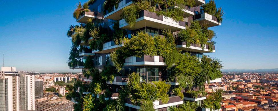 Conoce la primera selva vertical del mundo, el Bosque Vertical