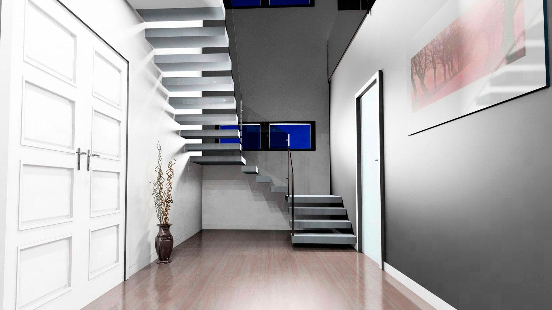 Chalet pareado diseño torremolinos entrada