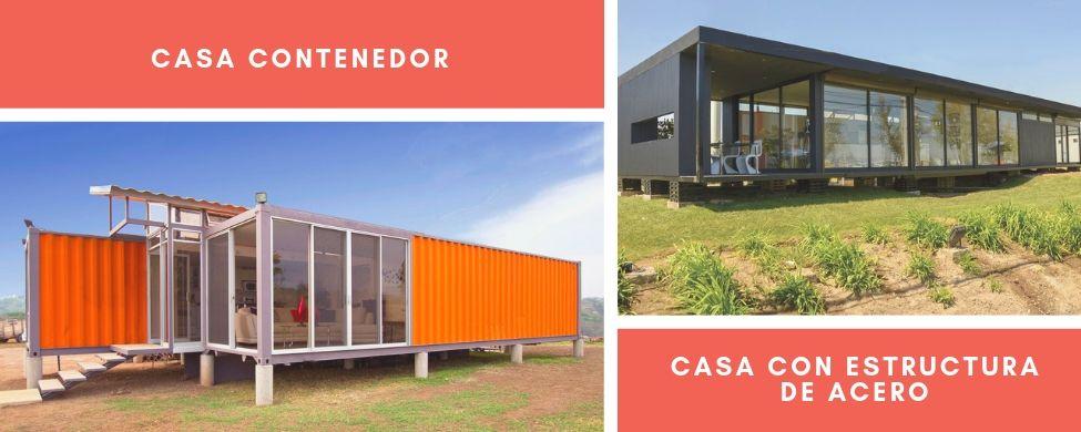 diferencias entre casa contenedor y casa con estructura de acero