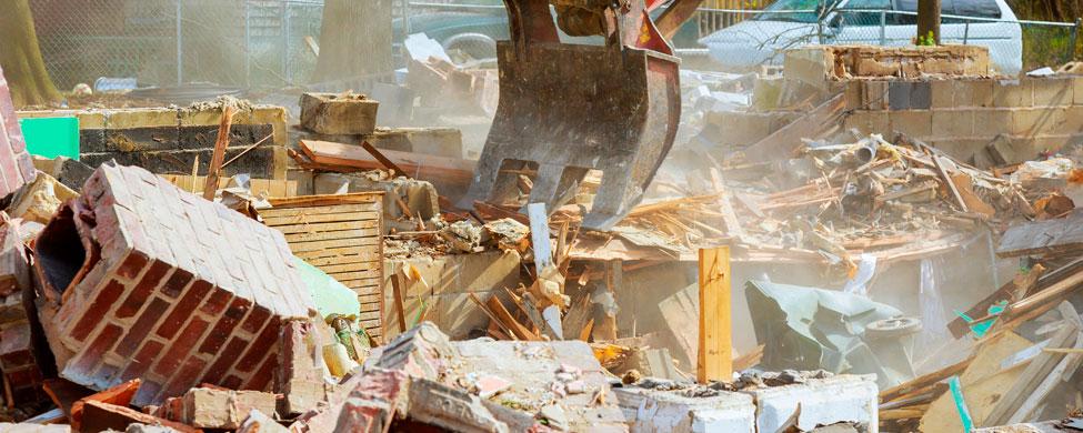 reutilizar residuos de construcciones y demoliciones